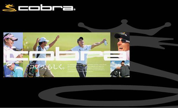 アメリカで圧倒的な人気を誇るコブラゴルフ(cobra golf)